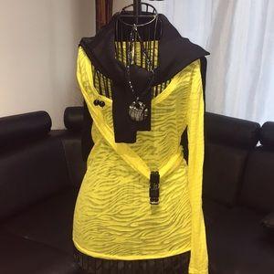 Splash Tops - Yellow long sleeve top